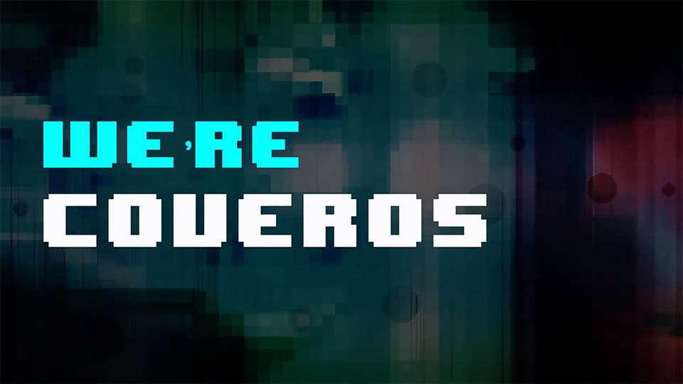 8-bit explainer video gather.town coveros